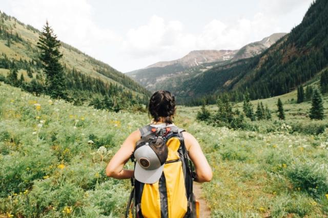 Bergwandern mit Birgit