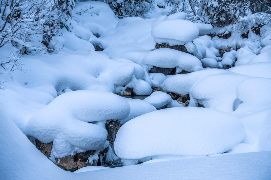 Schneeschuhwandern mit Birgit